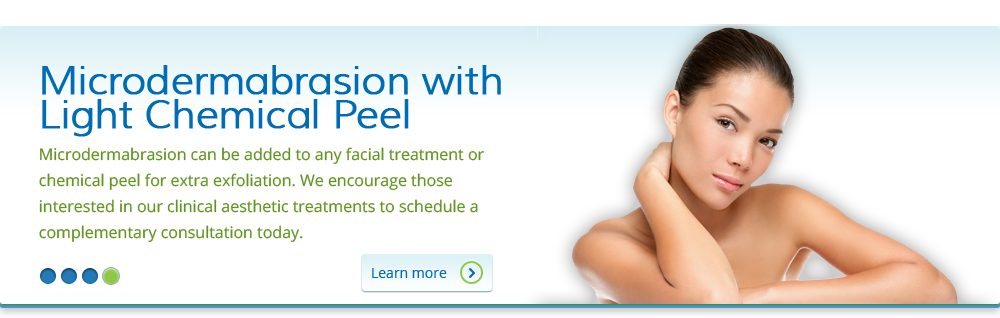 Microdermabrasion with Light Chemical Peel